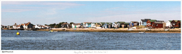Hengistbury Head Beach Huts, Harbour Side