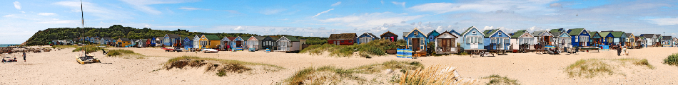 Hengestbury Head Beach Huts