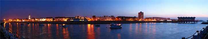 Herne Bay Harbour at Dusk
